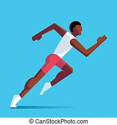 לרוץ, ספורטאי, דוגמה