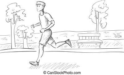 לרוץ, ספורטאי