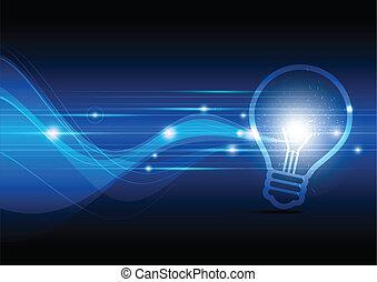 לרשוף, מנורה, חשמלי