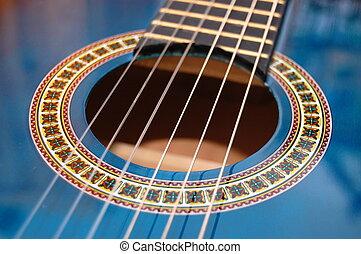 לשחק, כחול, מפלגה, מוסיקה, גיטרה