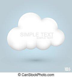 מבריק, ענן, איקון