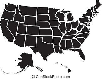מדינות, מפה, אחד