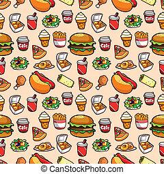 מהיר, תבנית, אוכל, seamless