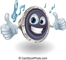 מוסיקה, אודיו, רמקול, אופי