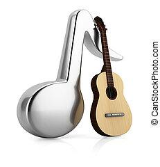 מוסיקה, גיטרה, ראה