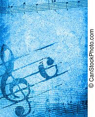 מוסיקה, גראנג, רקעים