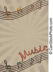מוסיקה, וקטור