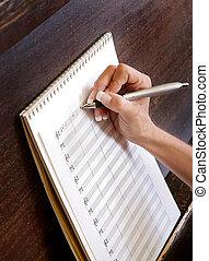 מוסיקה, להלחין, חדש