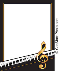 מוסיקה, מקרה, בידור, פוסטר