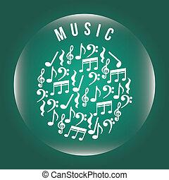 מוסיקה, עצב