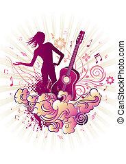 מוסיקה, עצב, טאמאד, יסוד