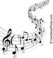 מוסיקה, רקע