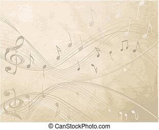 מוסיקה, רקע, לא, בציר