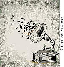 מוסיקה, רקע, ראטרו