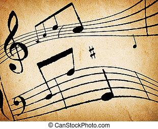 מוסיקה, רקע, תקציר