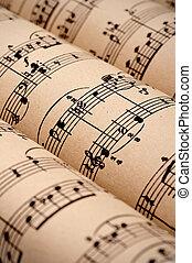 מוסיקה, domain), דף, התגלגל, (public