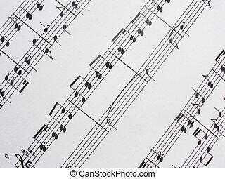 מוסיקה, sheet3
