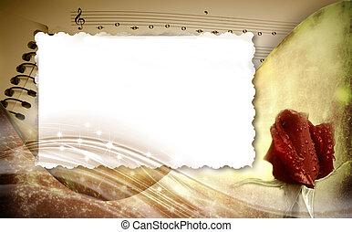 מוסיקלי, הסגר, רקע, רומנטי