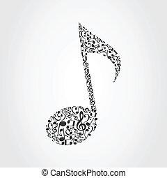 מוסיקלי, note6