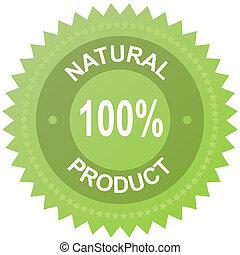 מוצר, טבעי, 100%, -, כנה, וקטור