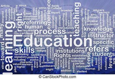 מושג, חינוך, רקע