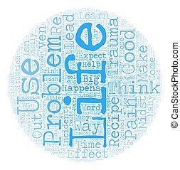מושג, טקסט, עשה, לימונדה, איך, wordcloud, רקע