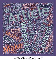 מושג, כסף, עשה, איך, wordcloud, רקע, טקסט, מאמר, directories