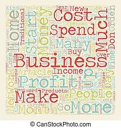 מושג, כסף, עשה, ארוך, איך, wordcloud, רקע, טקסט, אתה, לפני