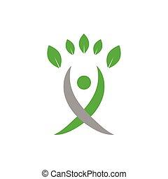 מושג, לוגו, חקלאות, וקטור, עצב