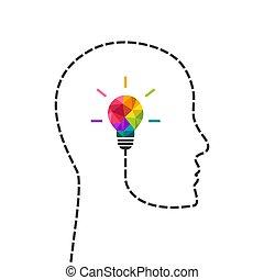 מושג, לחשוב, יצירתי, הובל