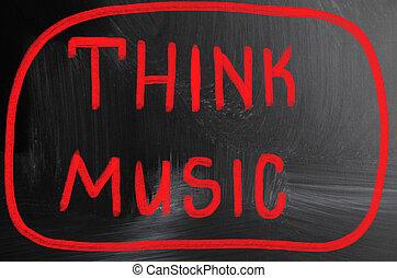 מושג, מוסיקה, חשוב