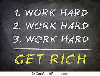 מושג, עשיר, העשה
