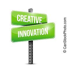 מושג, רחוב, יצירתי, חתום, המצאה