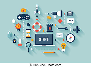 מושג של עסק, gamification, דוגמה