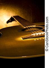 מושלם, גיטרה, מוסיקה, רקע.