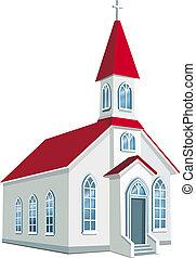 מחוז, קטן, נוצרי, כנסייה