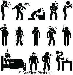 מחלה, מחלה, סימפטום, מחלה