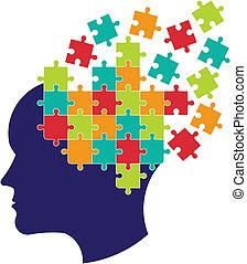 מחשבה, מוח, מושג, פתור