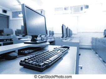 מחשבים, מקום עבודה, חדר