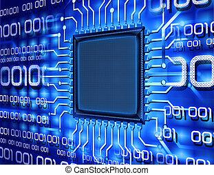 מחשב, בינארי, שבב