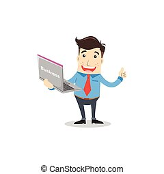 מחשב נייד, איש של עסק