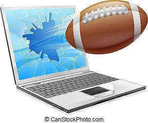 מחשב נייד, מושג, כדורגל