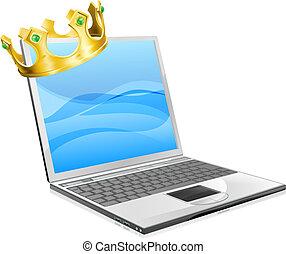 מחשב נייד, מלך