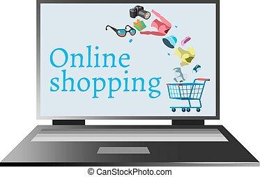 מחשב, קניות אונליין
