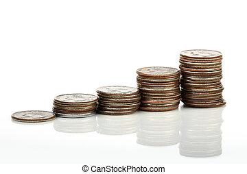 מטבעות, גרפי