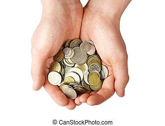 מטבעות, מלוא יד