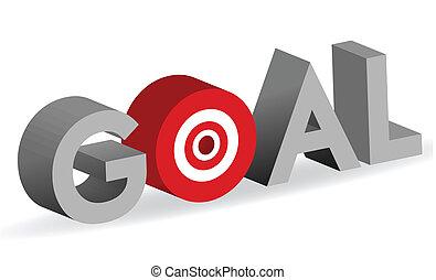 מטרה, מרכז מטרה, מילה, כוון, חתום