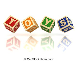 מיכשולים, צעצועים, מעץ