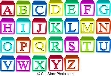 מיכשולים של אלפבית
