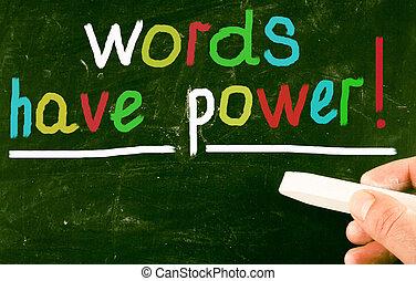 מילים, בעלת, power!